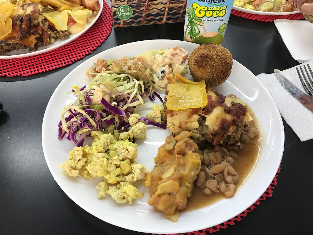 """Photo of Gran Vegan  by <a href=""""/members/profile/Paolla"""">Paolla</a> <br/>Options from the buffet (lunch time) <br/> July 30, 2017  - <a href='/contact/abuse/image/91755/286725'>Report</a>"""