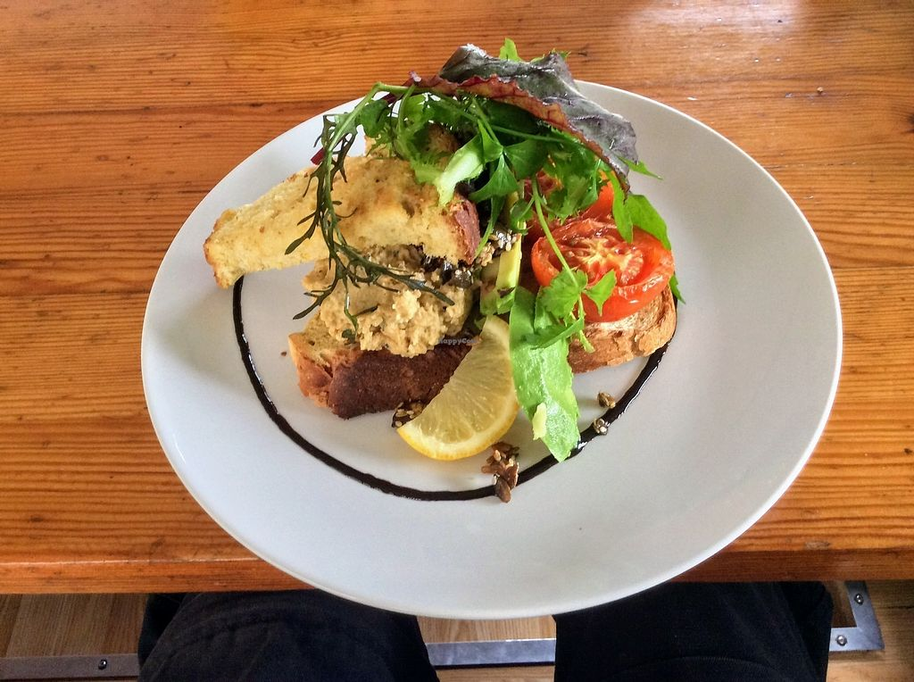 """Photo of The Railway Carriage Cafe  by <a href=""""/members/profile/The%20Smiths"""">The Smiths</a> <br/>Vegan Breakfast <br/> September 9, 2017  - <a href='/contact/abuse/image/91766/302648'>Report</a>"""