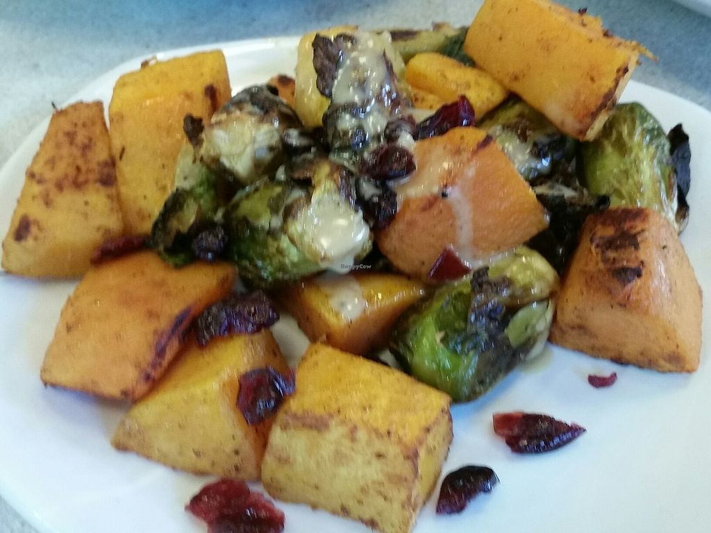 "Photo of CLOSED: LYFE Kitchen  by <a href=""/members/profile/eric"">eric</a> <br/>squash and brussel sprouts <br/> July 8, 2017  - <a href='/contact/abuse/image/91772/277735'>Report</a>"