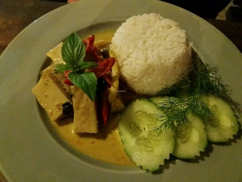 """Photo of Mama Cindy Restaurant  by <a href=""""/members/profile/KarinS"""">KarinS</a> <br/>Green curry with tofu <br/> December 14, 2017  - <a href='/contact/abuse/image/91789/335421'>Report</a>"""