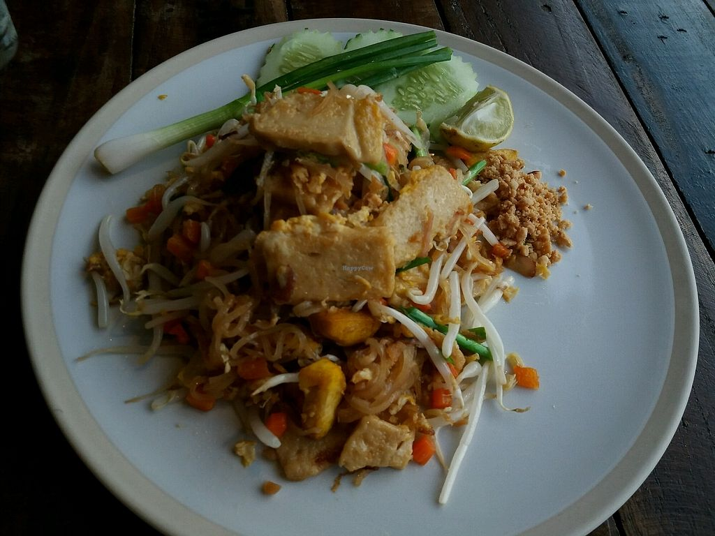 """Photo of Mama Cindy Restaurant  by <a href=""""/members/profile/KarinS"""">KarinS</a> <br/>Pad Thai with tofu <br/> December 14, 2017  - <a href='/contact/abuse/image/91789/335501'>Report</a>"""