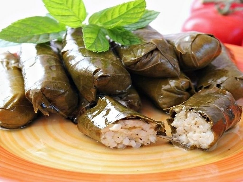 "Photo of The Olive Branch  by <a href=""/members/profile/TheOliveBranch"">TheOliveBranch</a> <br/>Vine leaves, warak inab stuffed with rice and marinated in fresh lemon juice and olive oil  <br/> May 7, 2017  - <a href='/contact/abuse/image/91790/256881'>Report</a>"