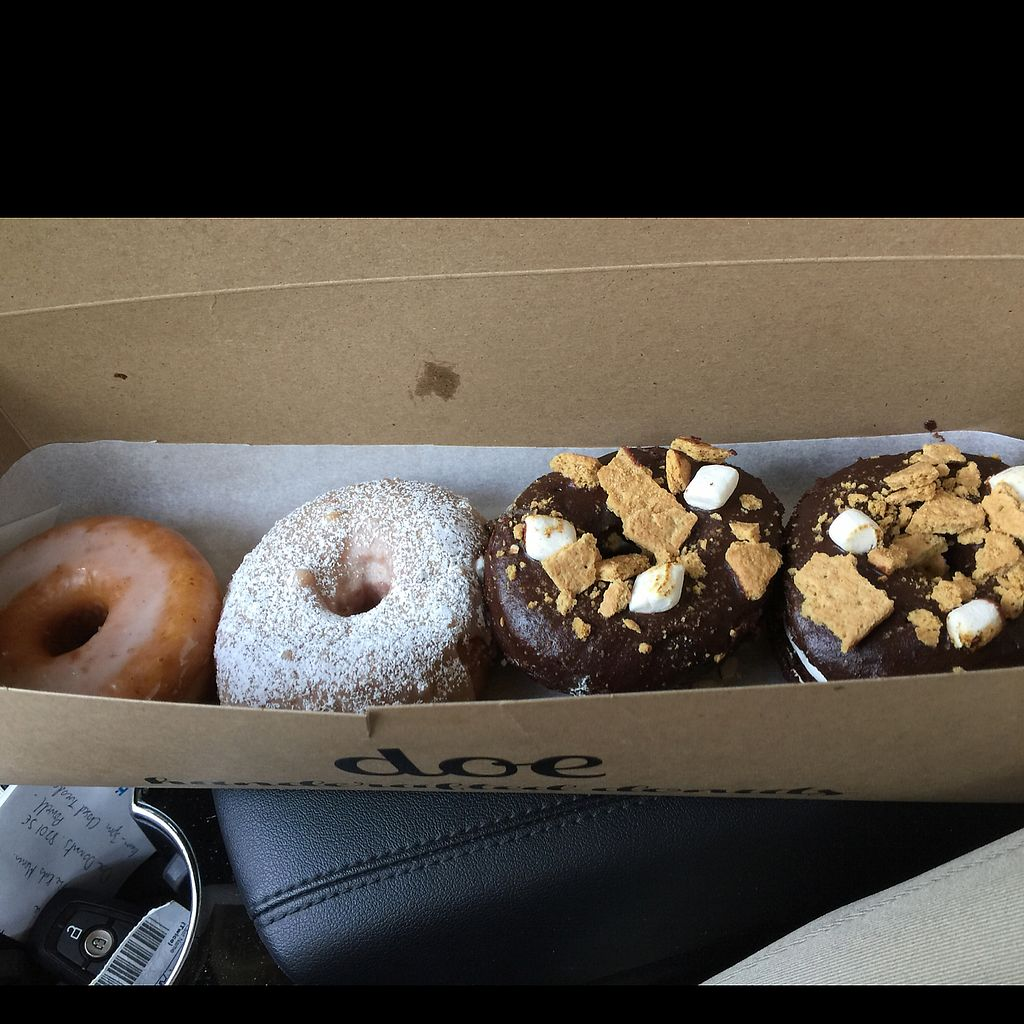"""Photo of Doe Donuts  by <a href=""""/members/profile/TerriChrisman"""">TerriChrisman</a> <br/>French Toast, something else and 2 Snores <br/> August 2, 2017  - <a href='/contact/abuse/image/91797/288049'>Report</a>"""