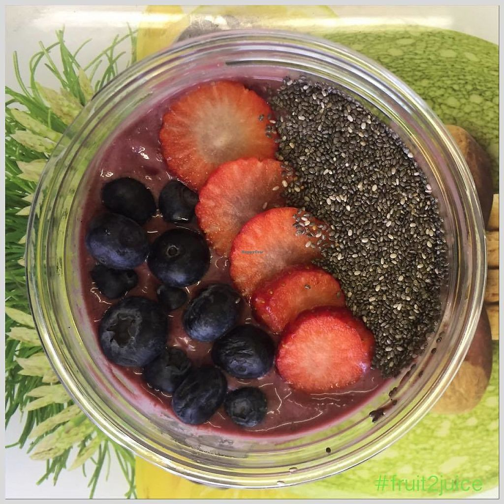 """Photo of CLOSED: Fruit2Juice  by <a href=""""/members/profile/community5"""">community5</a> <br/>Acai Bowl <br/> May 8, 2017  - <a href='/contact/abuse/image/91806/257102'>Report</a>"""