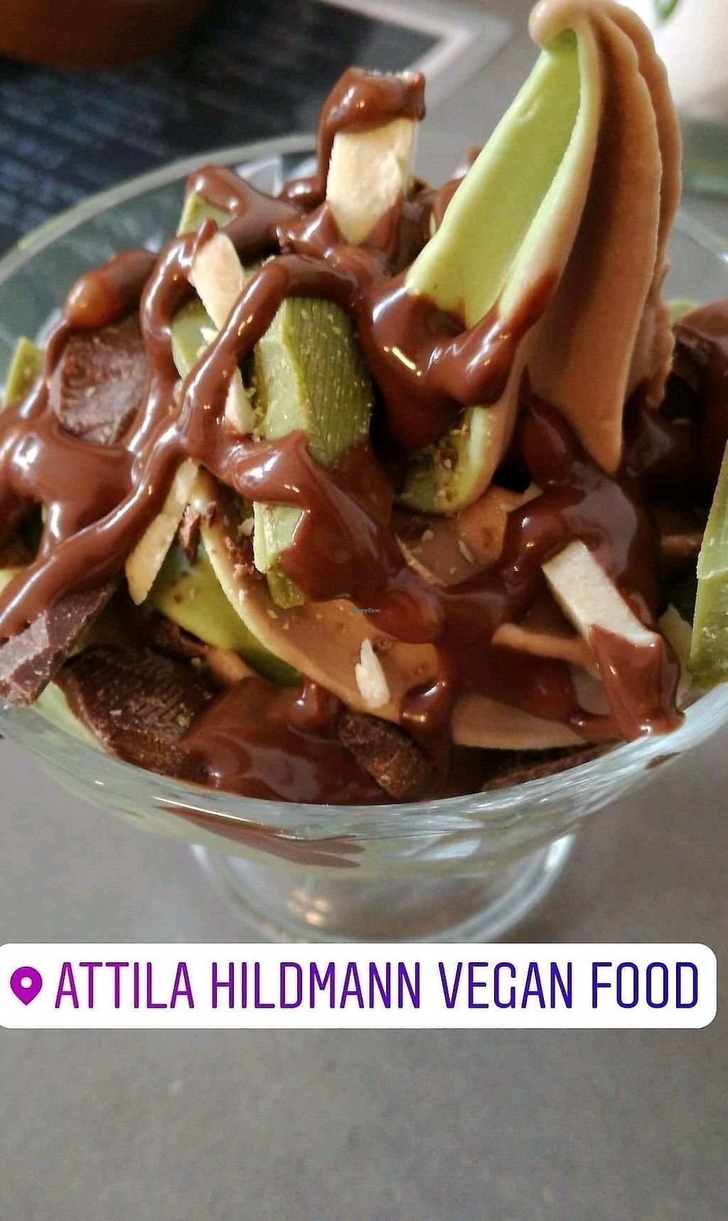 "Photo of Attila Hildmann Vegan Food  by <a href=""/members/profile/Anamarta"">Anamarta</a> <br/>ice cream <br/> October 31, 2017  - <a href='/contact/abuse/image/91807/320356'>Report</a>"