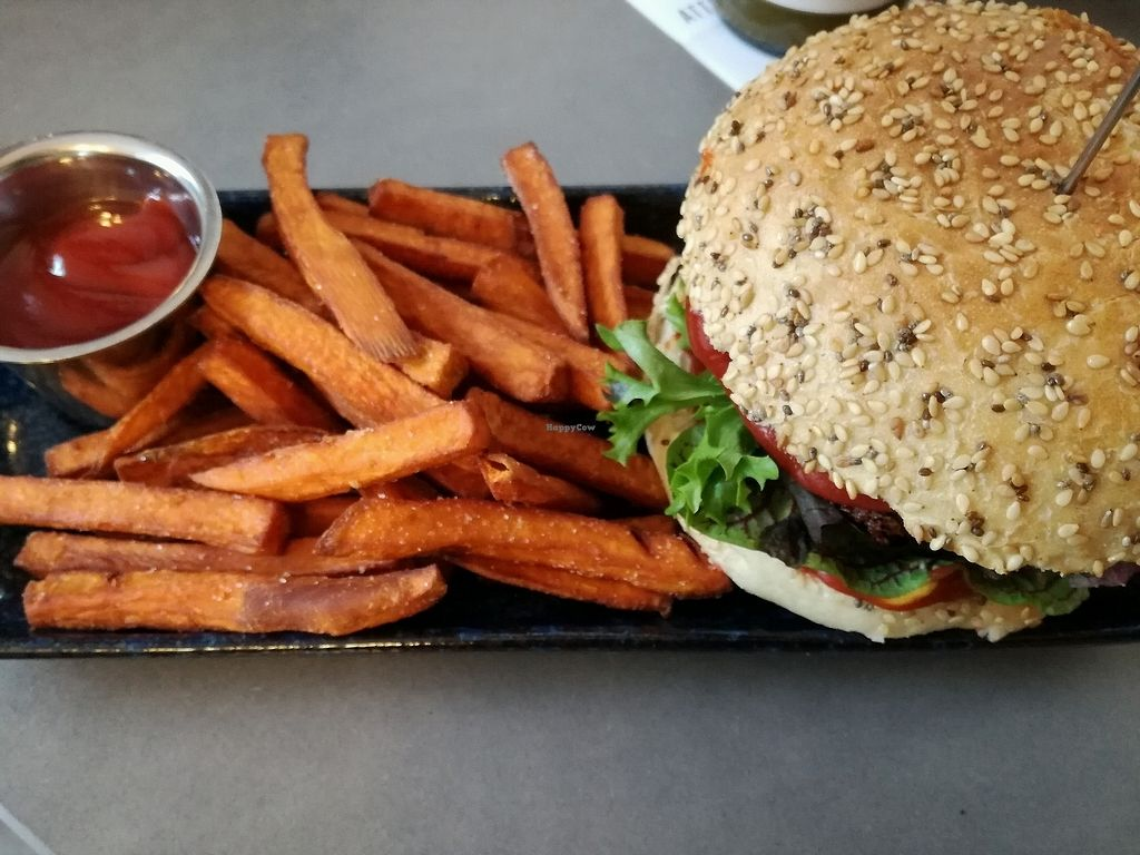 "Photo of Attila Hildmann Vegan Food  by <a href=""/members/profile/Anamarta"">Anamarta</a> <br/>burger <br/> October 31, 2017  - <a href='/contact/abuse/image/91807/320357'>Report</a>"