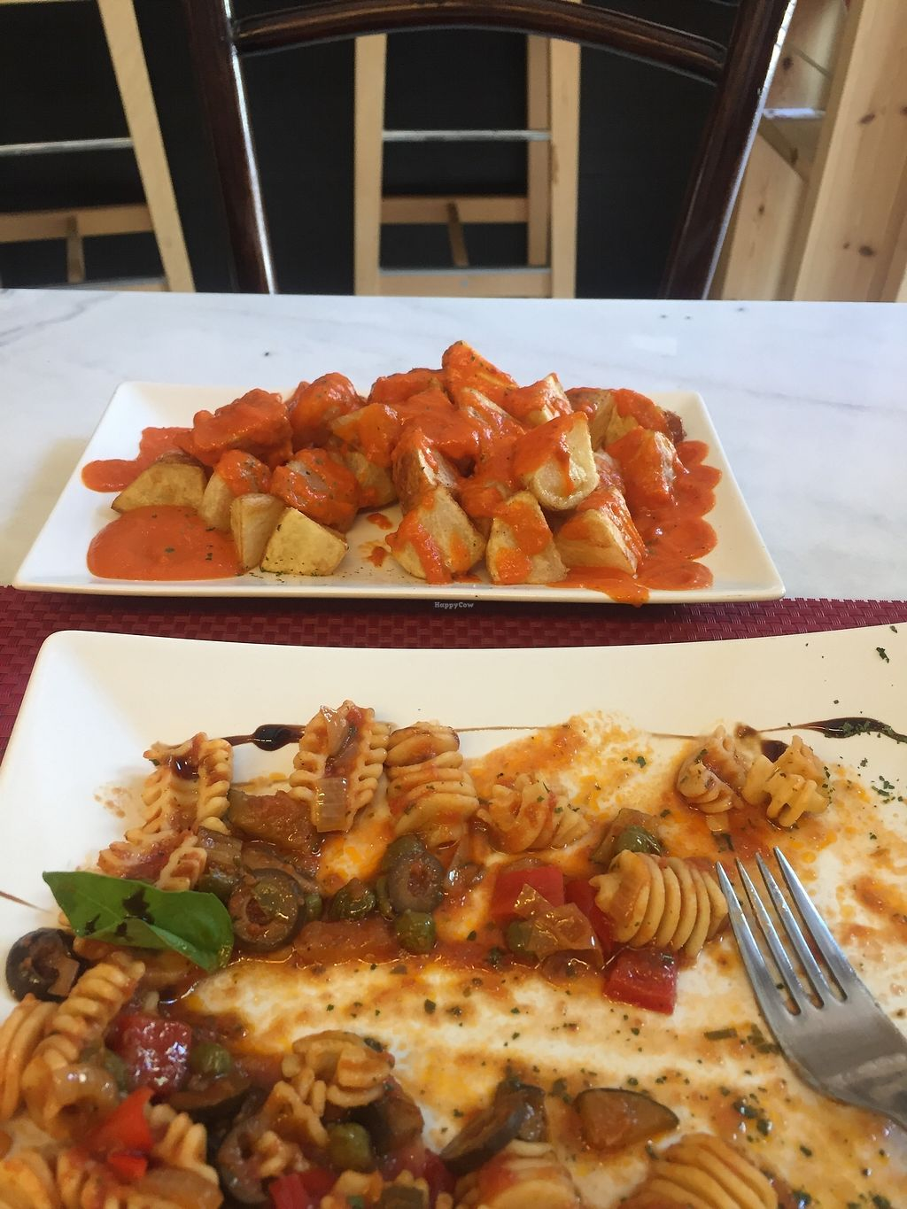 """Photo of La Raposa del Poble Sec  by <a href=""""/members/profile/LornaJane"""">LornaJane</a> <br/>Portions were big. The bravas were lovely  <br/> August 20, 2017  - <a href='/contact/abuse/image/91844/294637'>Report</a>"""