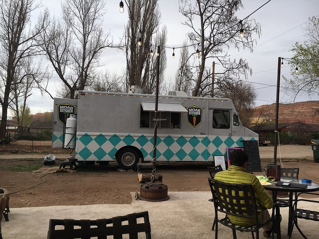 "Photo of Moab Kitchen  by <a href=""/members/profile/Dacecil"">Dacecil</a> <br/>The truck <br/> April 10, 2018  - <a href='/contact/abuse/image/91849/383576'>Report</a>"