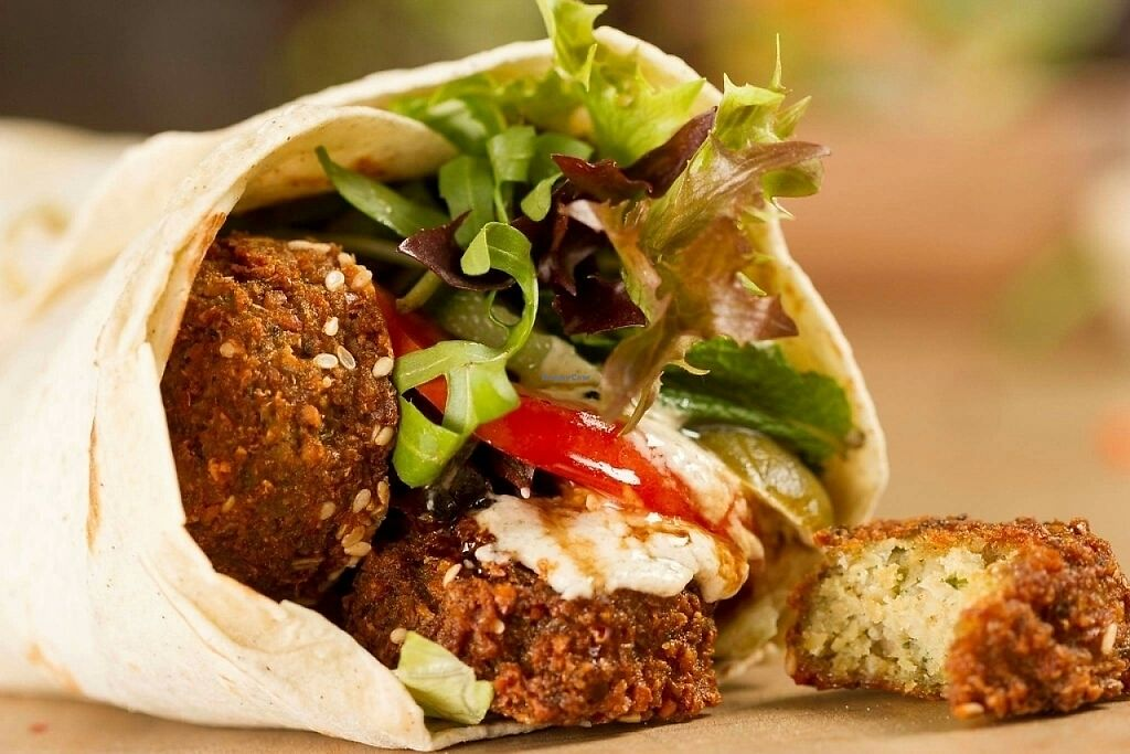 "Photo of World Food Trip - Food Truck  by <a href=""/members/profile/Steffen"">Steffen</a> <br/>Falafel wrap <br/> May 29, 2017  - <a href='/contact/abuse/image/91851/263905'>Report</a>"