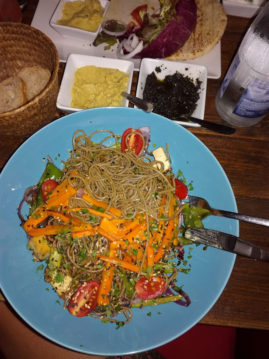 """Photo of Integral  by <a href=""""/members/profile/AmandaHibbitt-Gr%C3%A4ff"""">AmandaHibbitt-Gräff</a> <br/>The soba dish from the specials board <br/> August 23, 2017  - <a href='/contact/abuse/image/91857/296142'>Report</a>"""