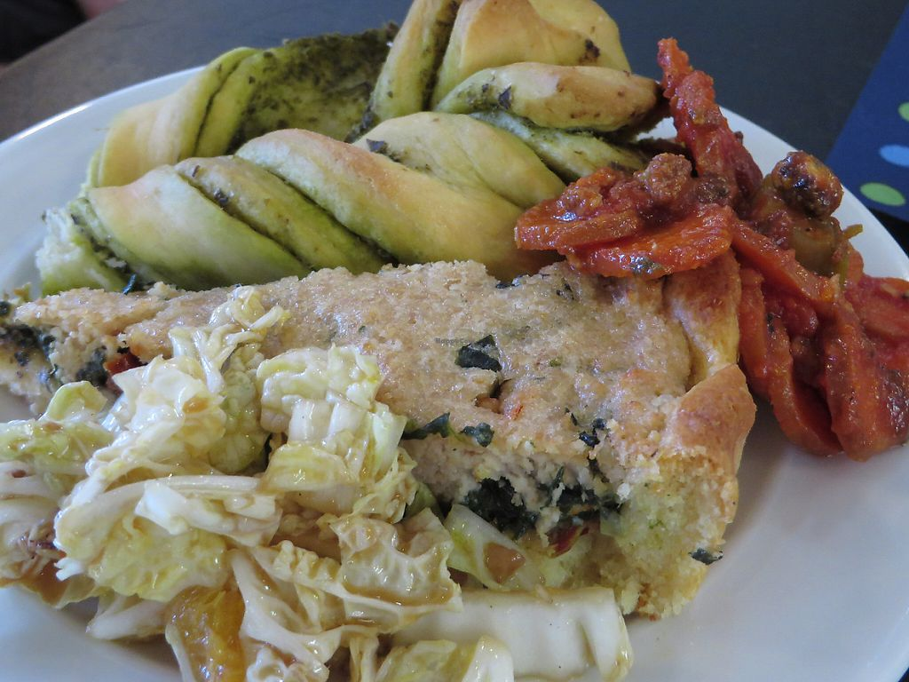 """Photo of Vegan Brunch Saarlouis Potluck  by <a href=""""/members/profile/VegiAnna"""">VegiAnna</a> <br/>example of a plate <br/> May 14, 2017  - <a href='/contact/abuse/image/91861/258819'>Report</a>"""