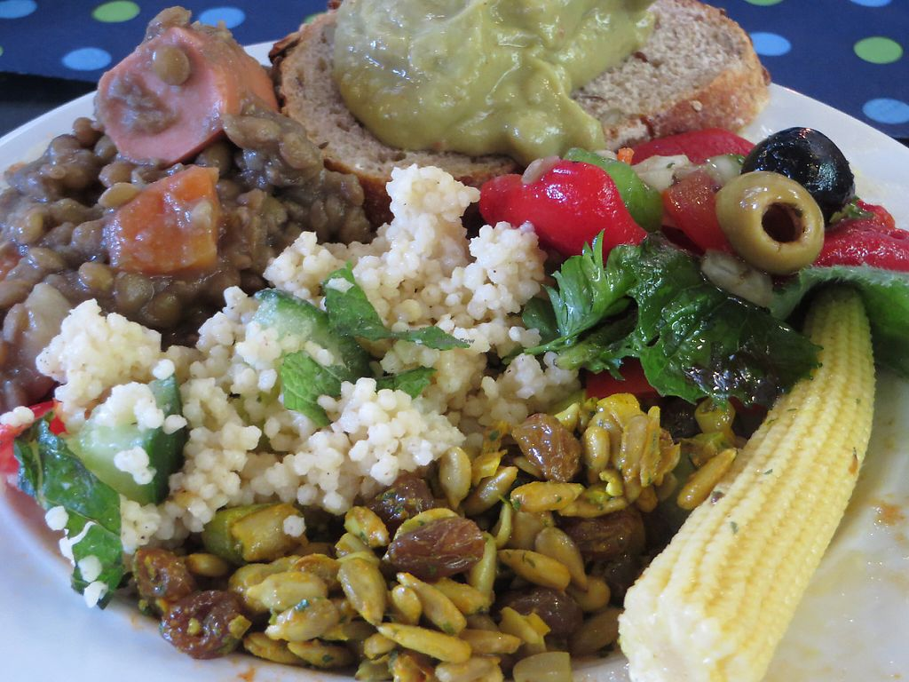 """Photo of Vegan Brunch Saarlouis Potluck  by <a href=""""/members/profile/VegiAnna"""">VegiAnna</a> <br/>example of a plate <br/> May 14, 2017  - <a href='/contact/abuse/image/91861/258821'>Report</a>"""