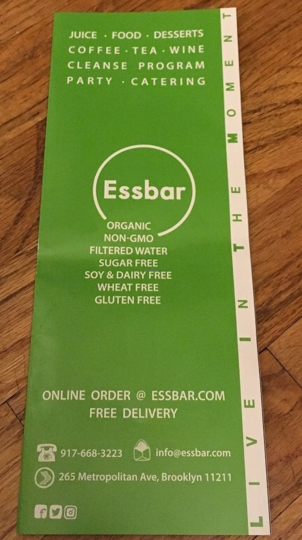 """Photo of CLOSED: Essbar  by <a href=""""/members/profile/xfoxtrotx"""">xfoxtrotx</a> <br/>Essbar is organic, gluten free, non gmo, no added sugar, soy free, dairy free, wheat free <br/> June 4, 2017  - <a href='/contact/abuse/image/91863/265566'>Report</a>"""