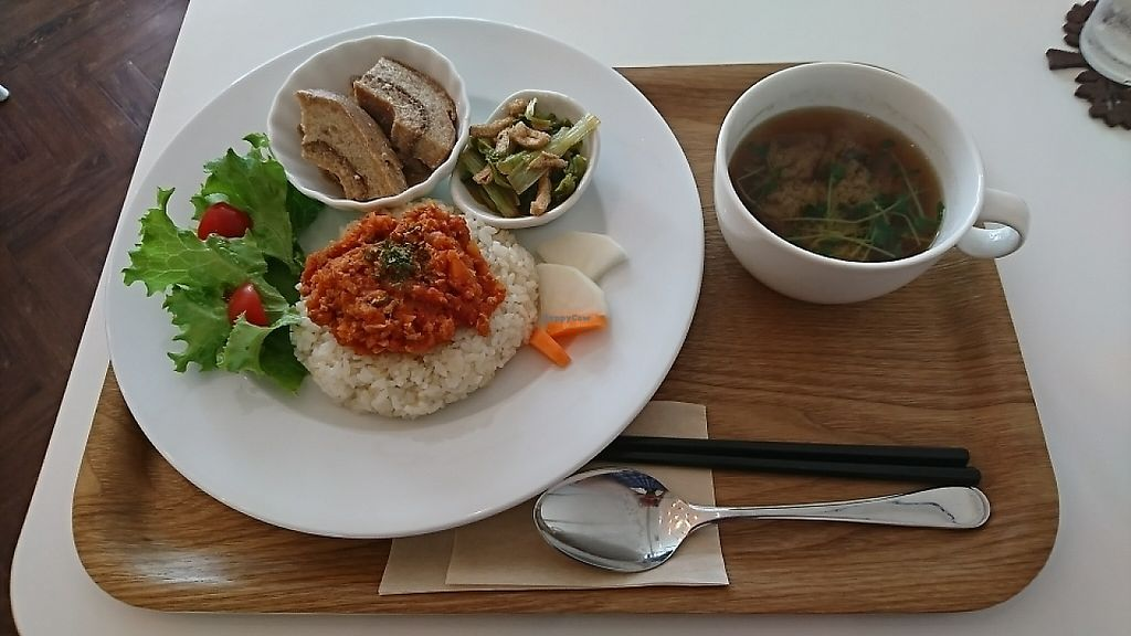 "Photo of Spica  by <a href=""/members/profile/moka_a"">moka_a</a> <br/>Weekly vegetables plate(¥1000) with optional curry topping(¥400) <br/> May 11, 2017  - <a href='/contact/abuse/image/91880/257728'>Report</a>"