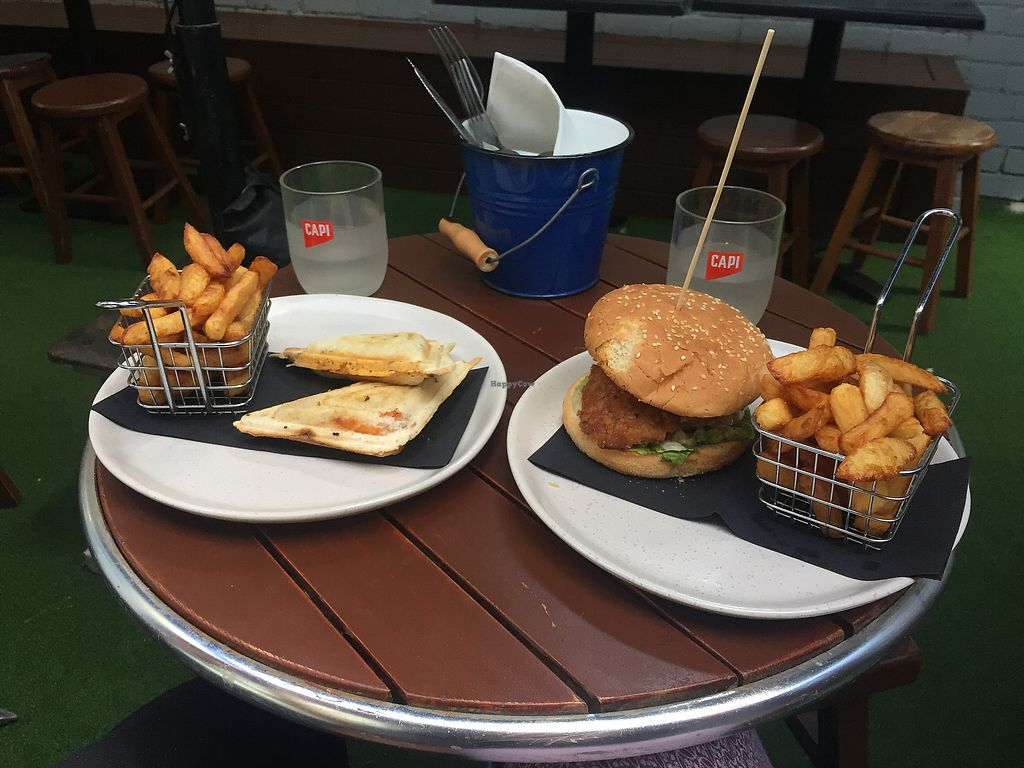 "Photo of The Snug Public House  by <a href=""/members/profile/economydreams"">economydreams</a> <br/>Jaffle & KFC Burger <br/> April 7, 2018  - <a href='/contact/abuse/image/91886/382126'>Report</a>"
