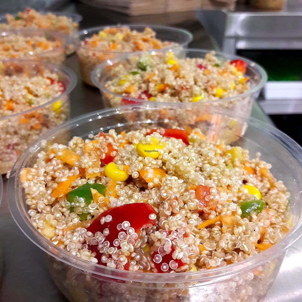 """Photo of Le Triple V  by <a href=""""/members/profile/wushu"""">wushu</a> <br/>Quinoa Salads <br/> July 1, 2017  - <a href='/contact/abuse/image/91894/275531'>Report</a>"""