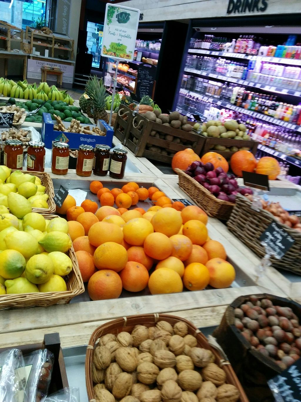 """Photo of LIV Organic & Natural Food Market  by <a href=""""/members/profile/CLRtraveller"""">CLRtraveller</a> <br/>produce section <br/> March 9, 2018  - <a href='/contact/abuse/image/91895/368452'>Report</a>"""