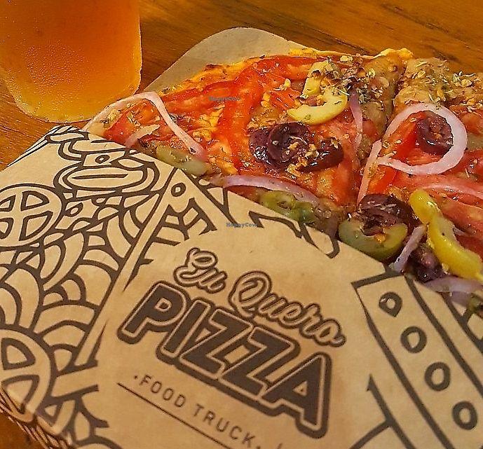 "Photo of Eu Quero Pizza - Food Truck  by <a href=""/members/profile/filipeamorim2"">filipeamorim2</a> <br/>Jaca pizza <br/> June 19, 2017  - <a href='/contact/abuse/image/91896/313383'>Report</a>"