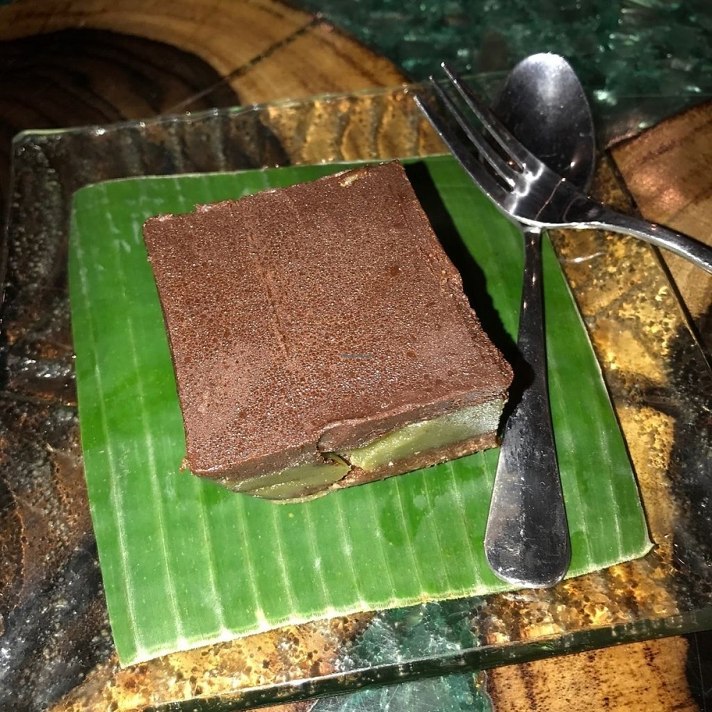 """Photo of Atman Nourish Kafe  by <a href=""""/members/profile/Tim_nottingham"""">Tim_nottingham</a> <br/>Vegan cake  <br/> May 11, 2017  - <a href='/contact/abuse/image/91940/257773'>Report</a>"""