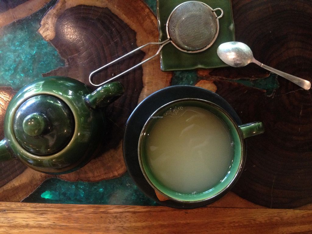 """Photo of Atman Nourish Kafe  by <a href=""""/members/profile/Bdizzle"""">Bdizzle</a> <br/>fresh ginger tea is a MUST <br/> May 23, 2017  - <a href='/contact/abuse/image/91940/261636'>Report</a>"""