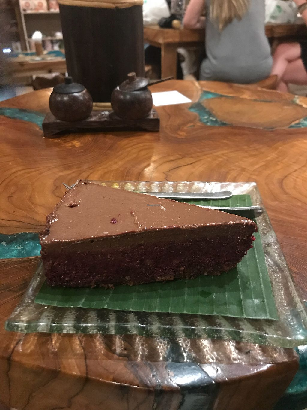 """Photo of Atman Nourish Kafe  by <a href=""""/members/profile/LolaNachtigall"""">LolaNachtigall</a> <br/>Beetroot, Cacao, Coconut Cake <br/> March 17, 2018  - <a href='/contact/abuse/image/91940/371680'>Report</a>"""