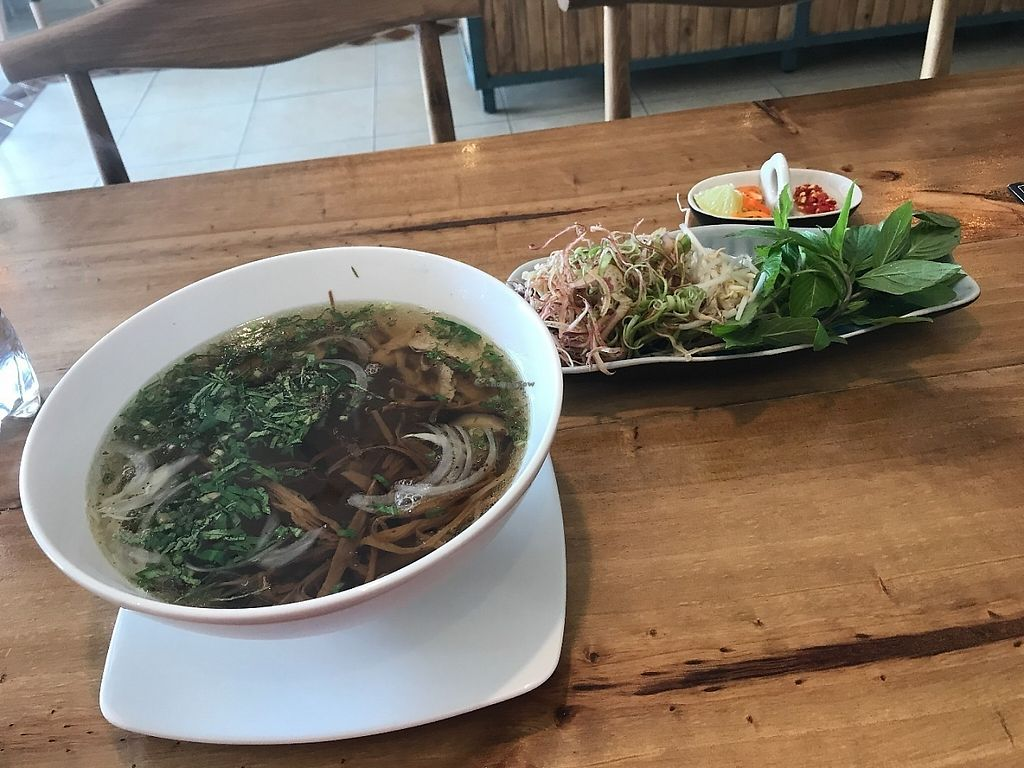 """Photo of Vegan Kitchen  by <a href=""""/members/profile/Tim_nottingham"""">Tim_nottingham</a> <br/>Vegan Pho <br/> May 27, 2017  - <a href='/contact/abuse/image/91953/262883'>Report</a>"""