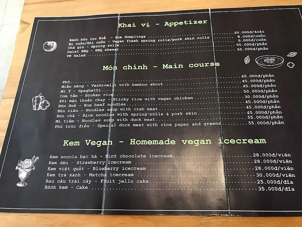 """Photo of Vegan Kitchen  by <a href=""""/members/profile/Tim_nottingham"""">Tim_nottingham</a> <br/>The menu  <br/> May 11, 2017  - <a href='/contact/abuse/image/91953/337184'>Report</a>"""