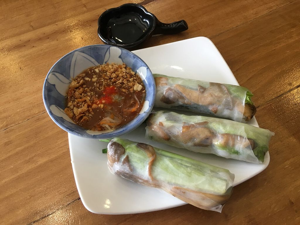 """Photo of Vegan Kitchen  by <a href=""""/members/profile/rtiago"""">rtiago</a> <br/>Fresh spring roll  <br/> January 1, 2018  - <a href='/contact/abuse/image/91953/341571'>Report</a>"""