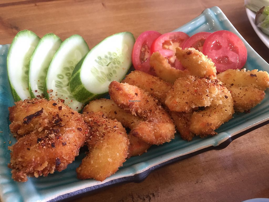 """Photo of Vegan Kitchen  by <a href=""""/members/profile/SusanRoberts"""">SusanRoberts</a> <br/>Vegan shrimp <br/> January 1, 2018  - <a href='/contact/abuse/image/91953/341577'>Report</a>"""