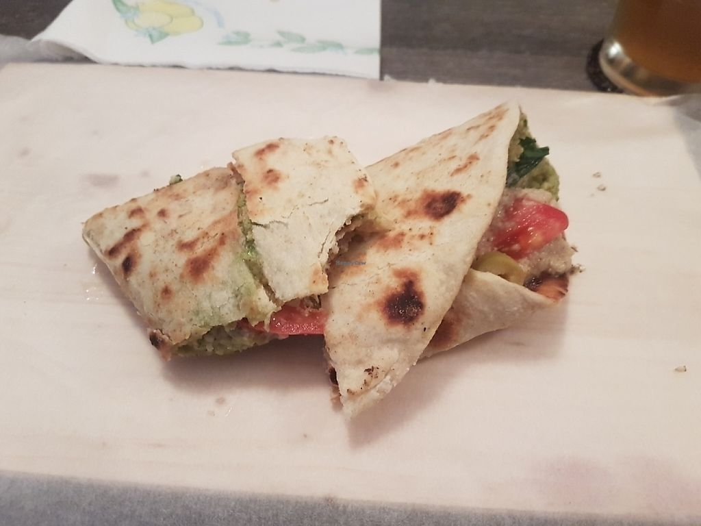 "Photo of Smsom  by <a href=""/members/profile/johannap"">johannap</a> <br/>Falafel wrap with tartar sauce <br/> May 25, 2017  - <a href='/contact/abuse/image/91958/262445'>Report</a>"