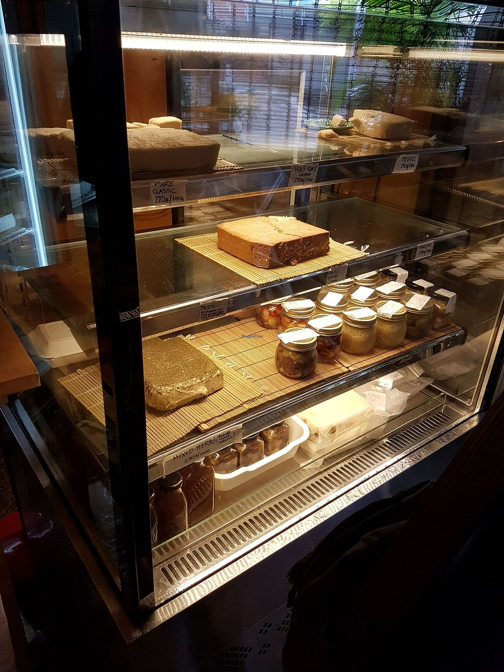 "Photo of BarefoodBangkok  by <a href=""/members/profile/vfantasy"">vfantasy</a> <br/>Vegan cheese inside chilled storage