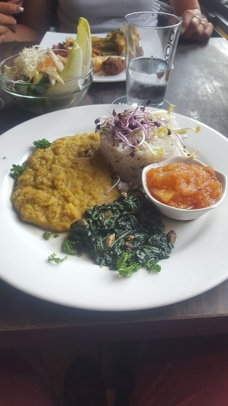 "Photo of ACU Kitchen Punx  by <a href=""/members/profile/RickK"">RickK</a> <br/>basmati, dahl and chutney at ACU <br/> June 20, 2017  - <a href='/contact/abuse/image/9196/271451'>Report</a>"