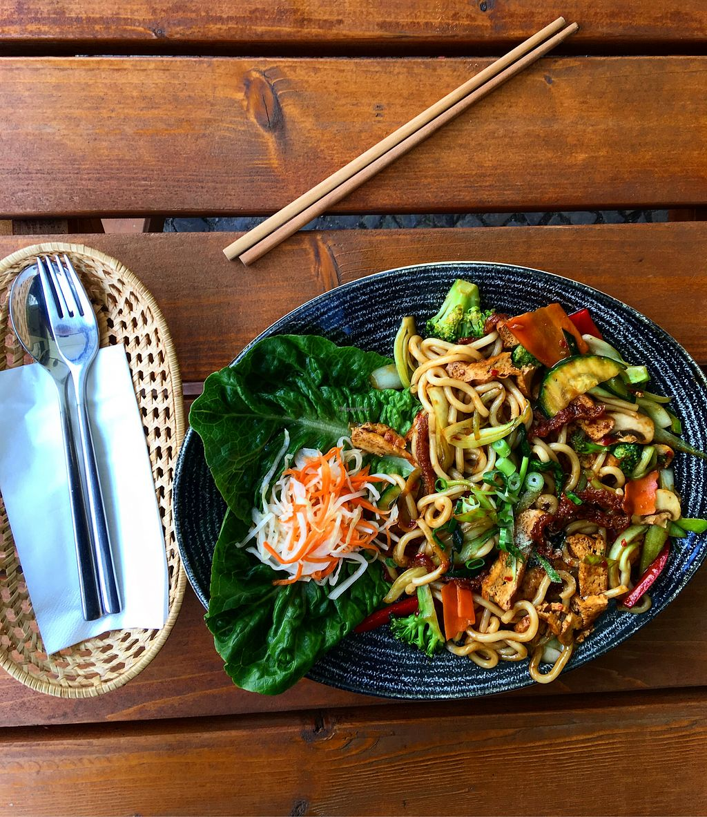 "Photo of Chay Long  by <a href=""/members/profile/Stefanus"">Stefanus</a> <br/>Udon noodles with organic tofu <br/> April 24, 2018  - <a href='/contact/abuse/image/91970/390616'>Report</a>"
