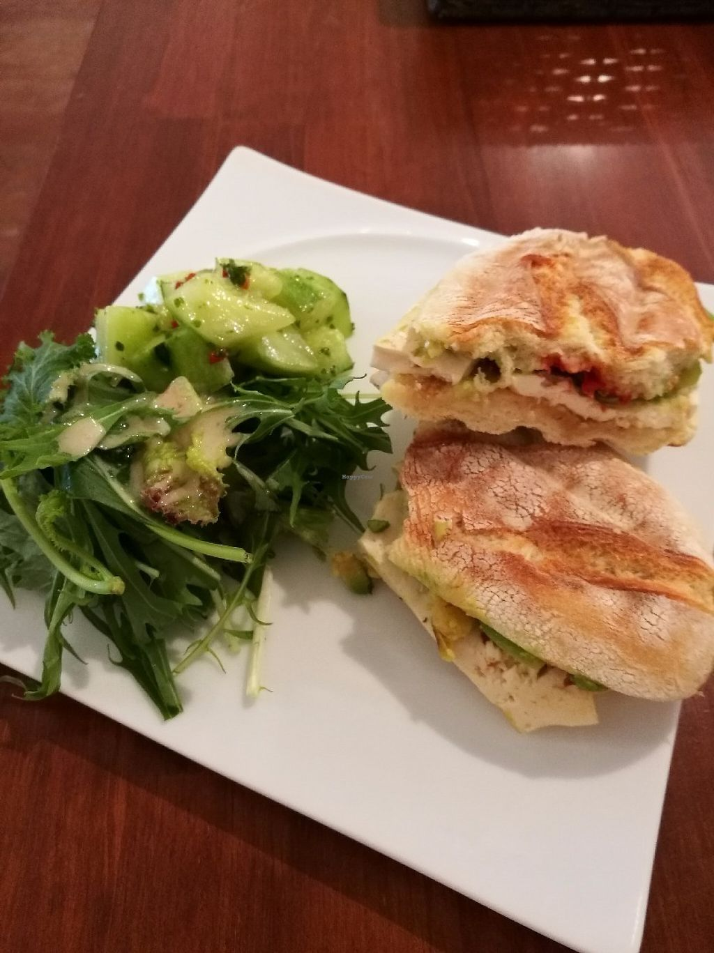 """Photo of Taste and Scent  by <a href=""""/members/profile/wanderin_around"""">wanderin_around</a> <br/>Tofu and avocado panini <br/> May 13, 2017  - <a href='/contact/abuse/image/92055/258419'>Report</a>"""