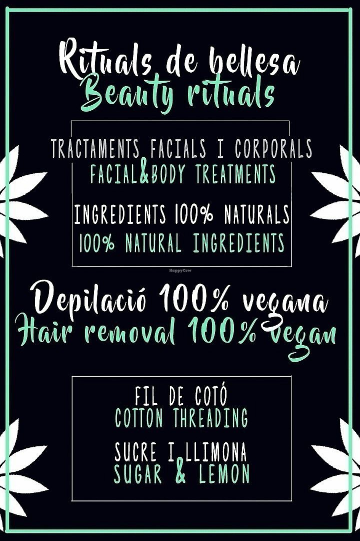 """Photo of Vegere Vegan Beauty  by <a href=""""/members/profile/S%C3%ADlviaVegere"""">SílviaVegere</a> <br/>Facial and body treatments, and Vegan Hair Removal <br/> June 13, 2017  - <a href='/contact/abuse/image/92059/268652'>Report</a>"""