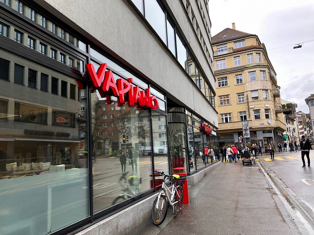 """Photo of Vapiano  by <a href=""""/members/profile/marky_mark"""">marky_mark</a> <br/>outside <br/> March 28, 2018  - <a href='/contact/abuse/image/92069/377312'>Report</a>"""