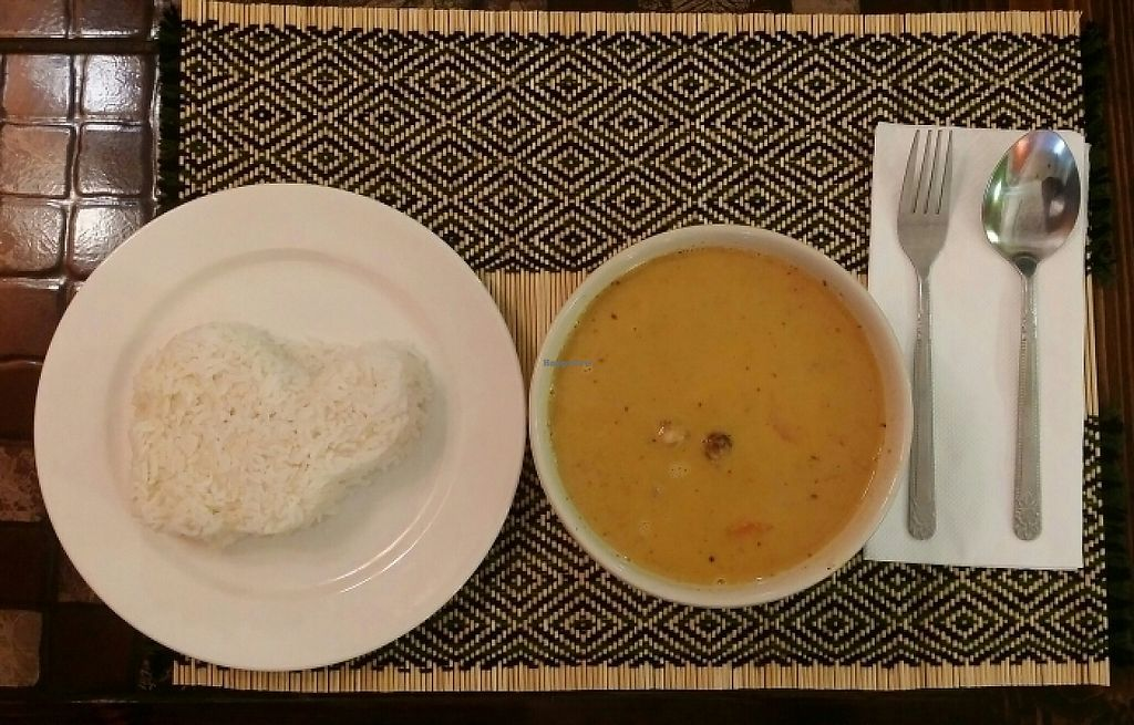"Photo of Vegan Heaven 2  by <a href=""/members/profile/Mike%20Munsie"">Mike Munsie</a> <br/>massaman curry with rice <br/> May 28, 2017  - <a href='/contact/abuse/image/92072/263355'>Report</a>"