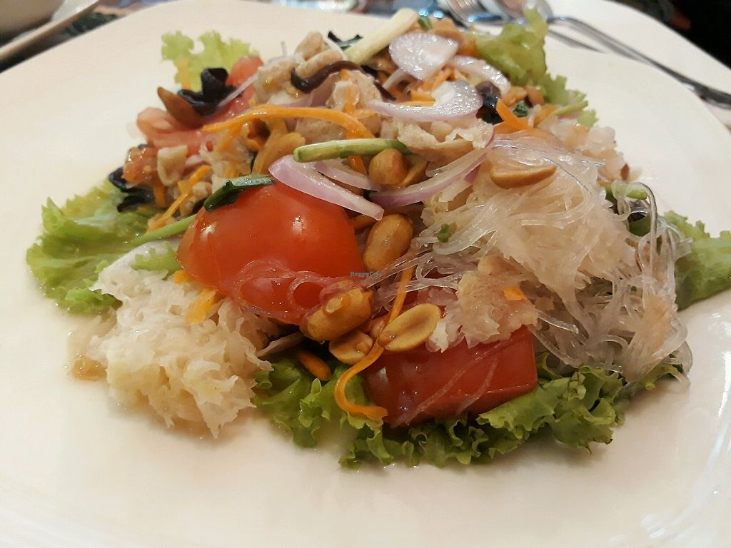 "Photo of Vegan Heaven 2  by <a href=""/members/profile/LilacHippy"">LilacHippy</a> <br/>Glass Noodle Salad <br/> January 16, 2018  - <a href='/contact/abuse/image/92072/347062'>Report</a>"