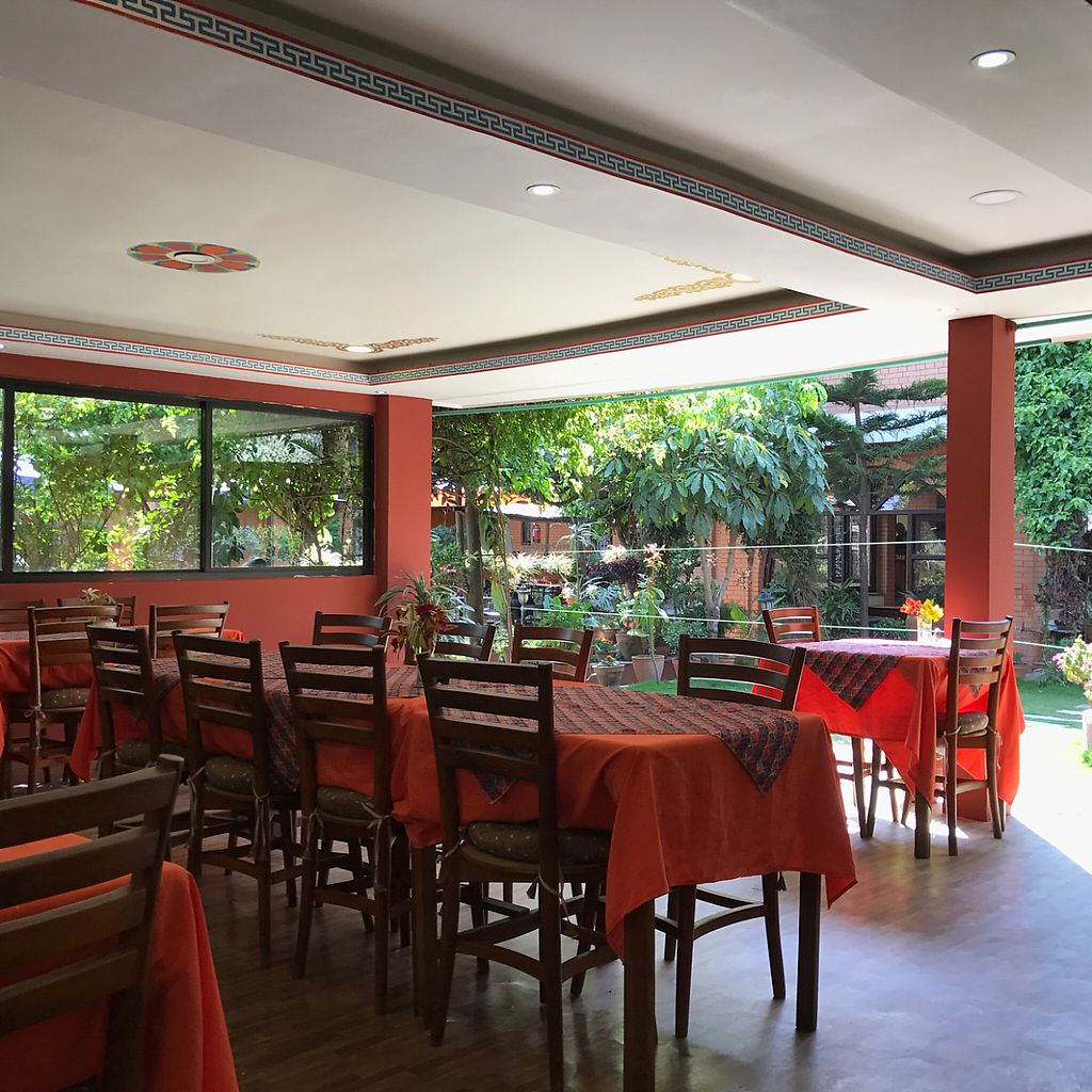 """Photo of Rabsel Garden Cafe at Shechen Monastery  by <a href=""""/members/profile/earthville"""">earthville</a> <br/>dining room <br/> May 13, 2017  - <a href='/contact/abuse/image/92083/258342'>Report</a>"""