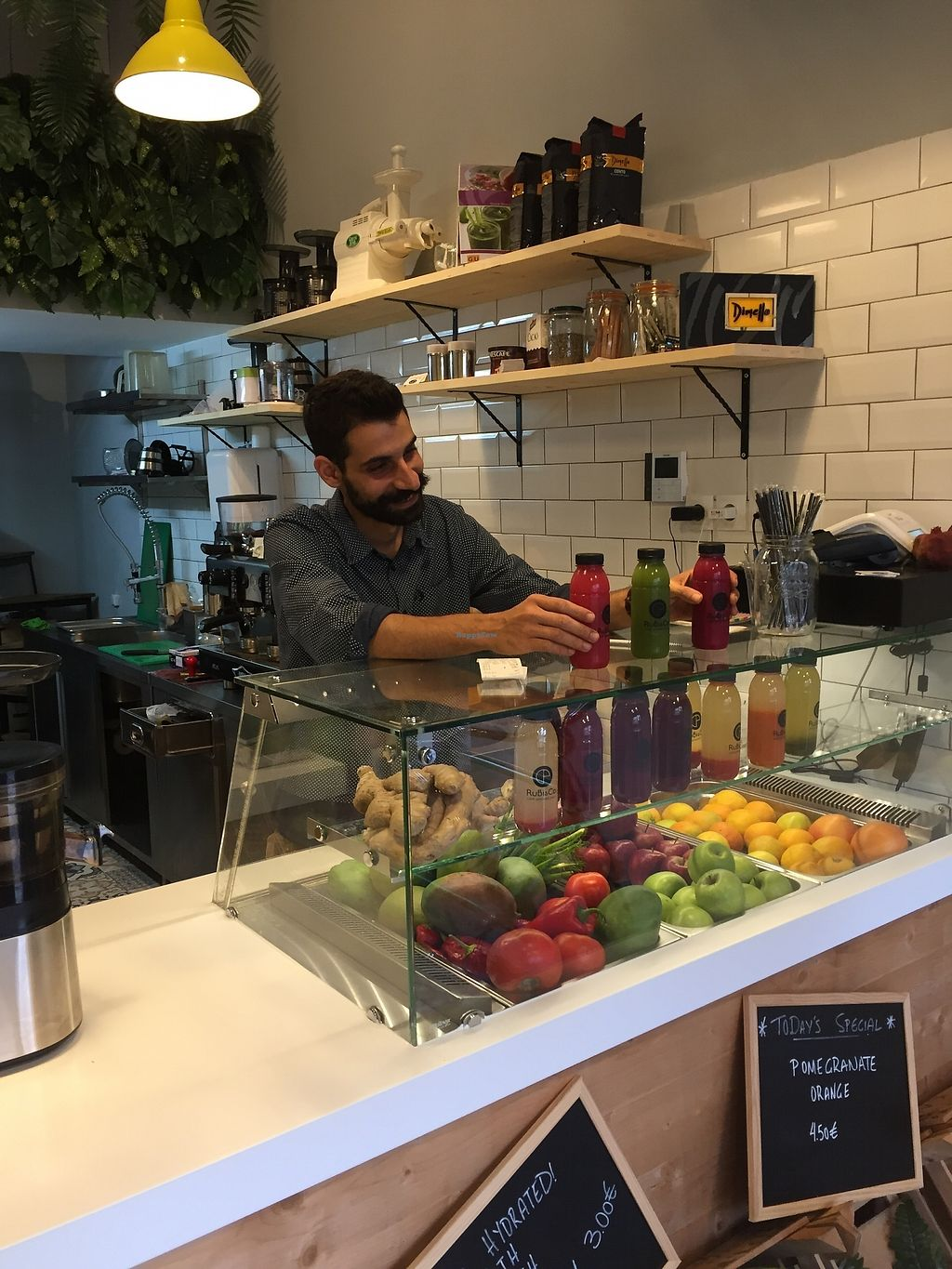 """Photo of RuBisCo  by <a href=""""/members/profile/RuBisCo"""">RuBisCo</a> <br/>Fresh, raw cold-pressed juices make you happy! <br/> July 26, 2017  - <a href='/contact/abuse/image/92117/284978'>Report</a>"""