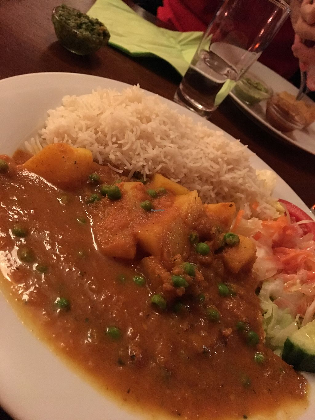"""Photo of Veggie & Vega - Restaurant  by <a href=""""/members/profile/LaurenRobinson"""">LaurenRobinson</a> <br/>Potato and greenbeans  <br/> February 27, 2018  - <a href='/contact/abuse/image/92126/364628'>Report</a>"""
