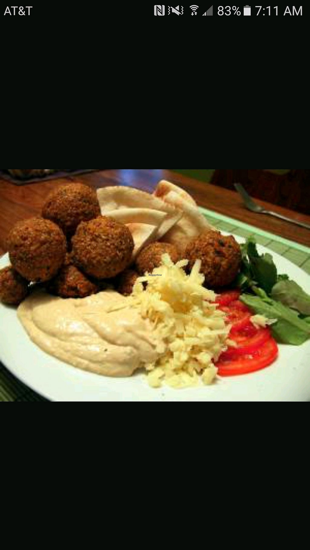 "Photo of Falafel Den  by <a href=""/members/profile/LeanPartian"">LeanPartian</a> <br/>Falafel with hummus <br/> December 9, 2017  - <a href='/contact/abuse/image/92130/333609'>Report</a>"