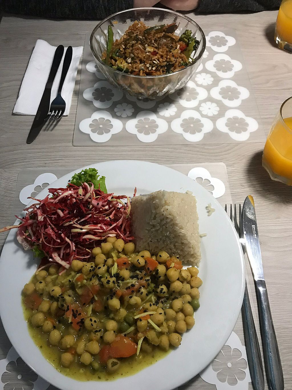 "Photo of Alma Amor  by <a href=""/members/profile/imogenmichel"">imogenmichel</a> <br/>Chickpea curry and stir fried veggie bowl  <br/> January 14, 2018  - <a href='/contact/abuse/image/92148/346326'>Report</a>"