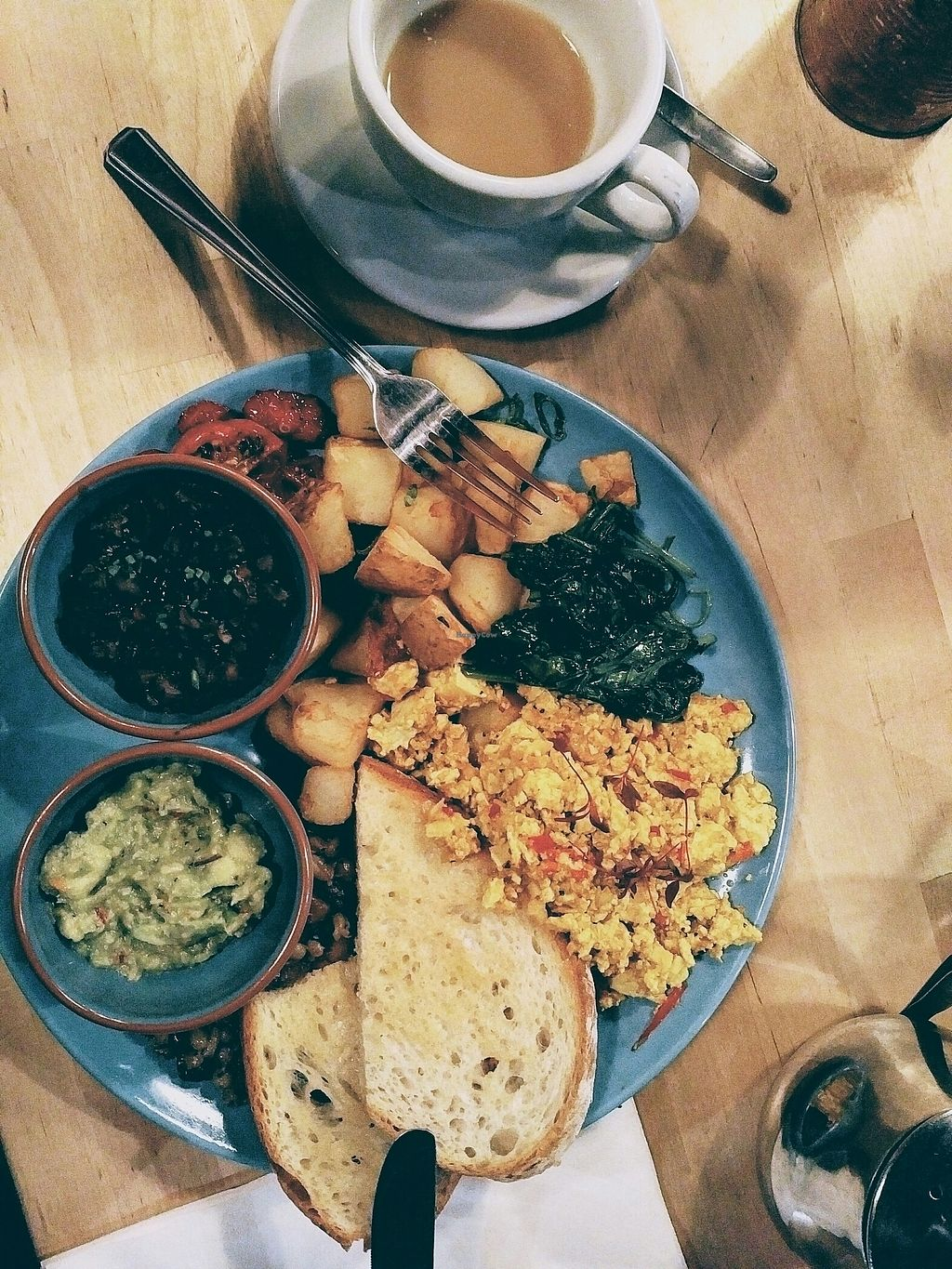 """Photo of Something at The Glad Cafe  by <a href=""""/members/profile/annie.virtual"""">annie.virtual</a> <br/>Vegan Special from the new Something 2 menu <br/> July 12, 2017  - <a href='/contact/abuse/image/92165/279432'>Report</a>"""