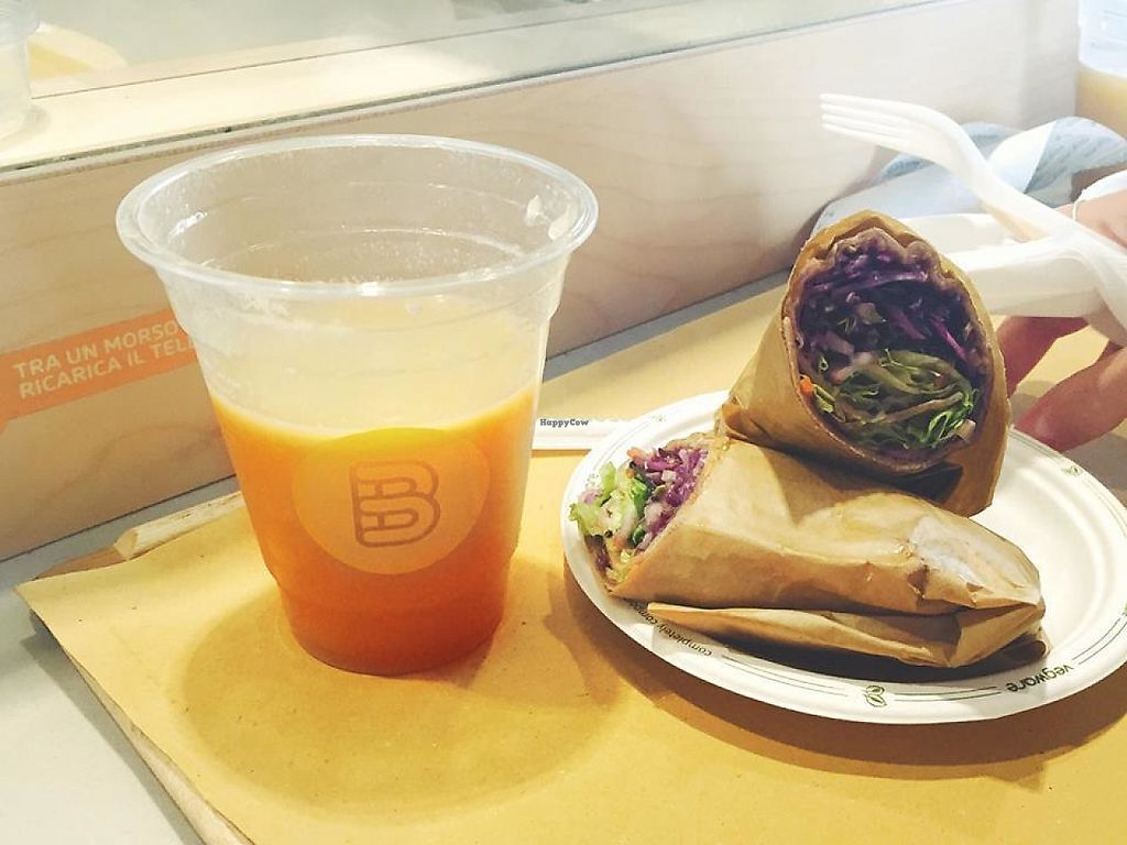 "Photo of Banco Fast Food  by <a href=""/members/profile/community5"">community5</a> <br/>Vegan roll and juice <br/> May 15, 2017  - <a href='/contact/abuse/image/92172/259139'>Report</a>"
