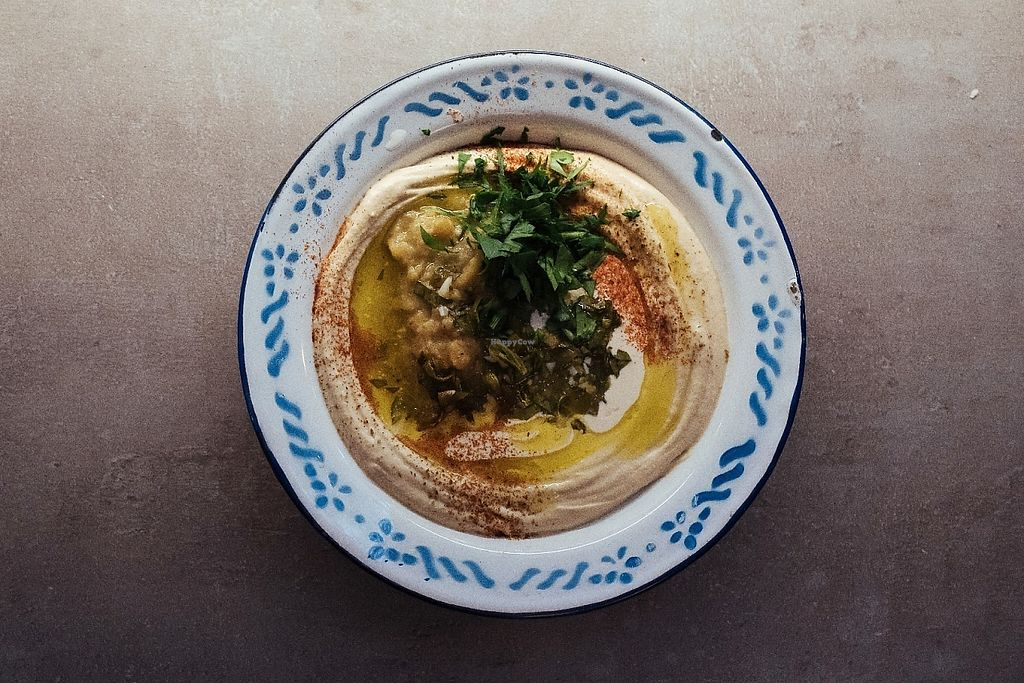 """Photo of Mashery - Hummus Kitchen  by <a href=""""/members/profile/MasheryHummusKitchen"""">MasheryHummusKitchen</a> <br/>Hummus Masabacha <br/> May 17, 2017  - <a href='/contact/abuse/image/92199/259467'>Report</a>"""