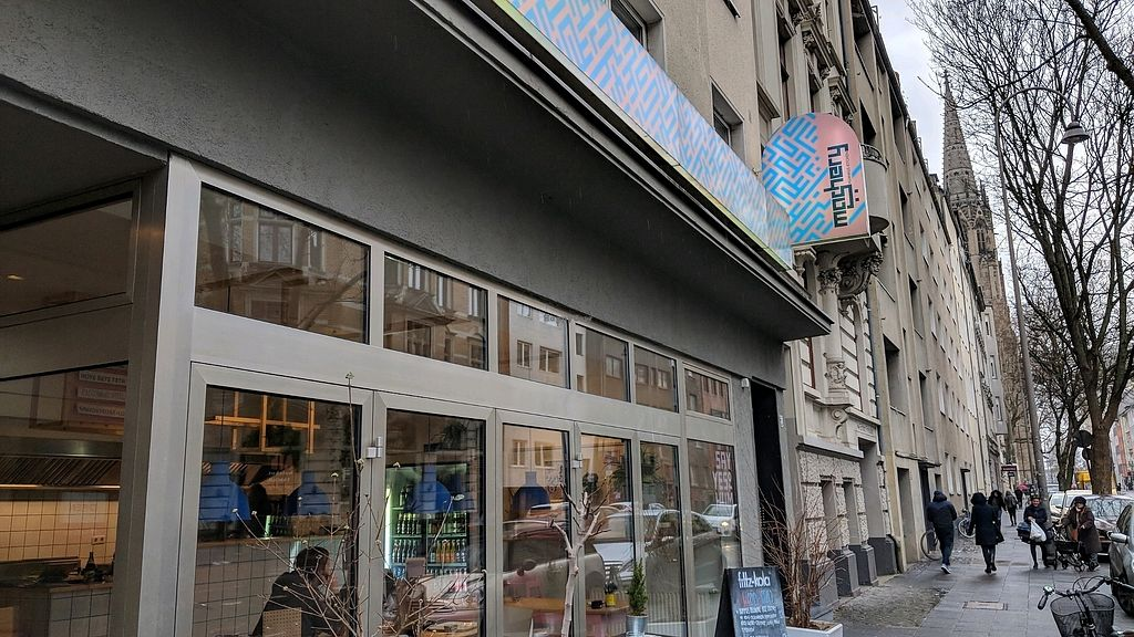 """Photo of Mashery - Hummus Kitchen  by <a href=""""/members/profile/Veganbeanstalk"""">Veganbeanstalk</a> <br/>front of restaurant <br/> January 31, 2018  - <a href='/contact/abuse/image/92199/353181'>Report</a>"""