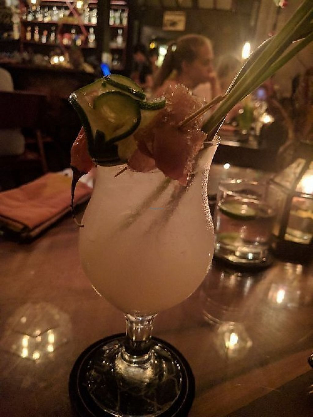 """Photo of Kismet Restaurant & Lounge  by <a href=""""/members/profile/wildeyedgirl"""">wildeyedgirl</a> <br/>Lemongrass, chilli and ginger cocktail <br/> May 16, 2017  - <a href='/contact/abuse/image/92216/259214'>Report</a>"""
