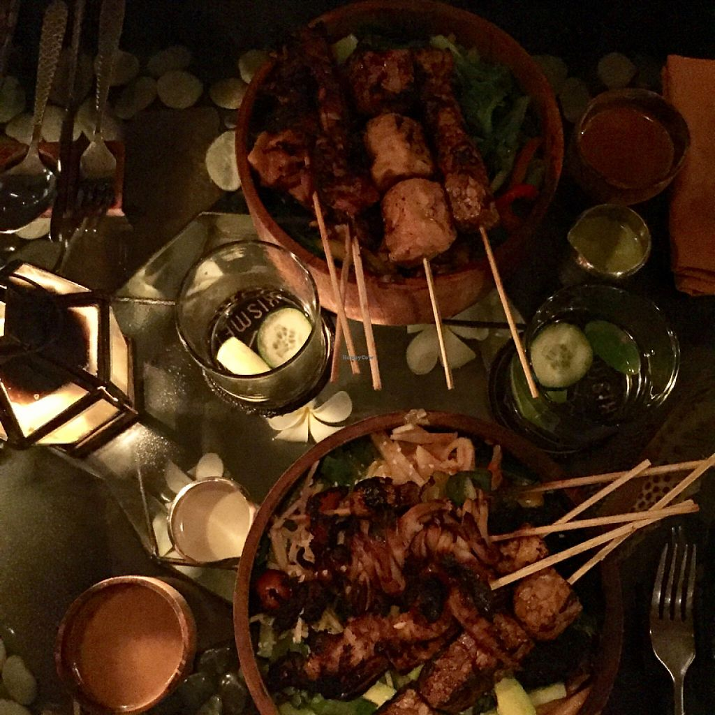 """Photo of Kismet Restaurant & Lounge  by <a href=""""/members/profile/Eefie"""">Eefie</a> <br/>Great salad bowls & 5 different skewers <br/> May 31, 2017  - <a href='/contact/abuse/image/92216/264371'>Report</a>"""