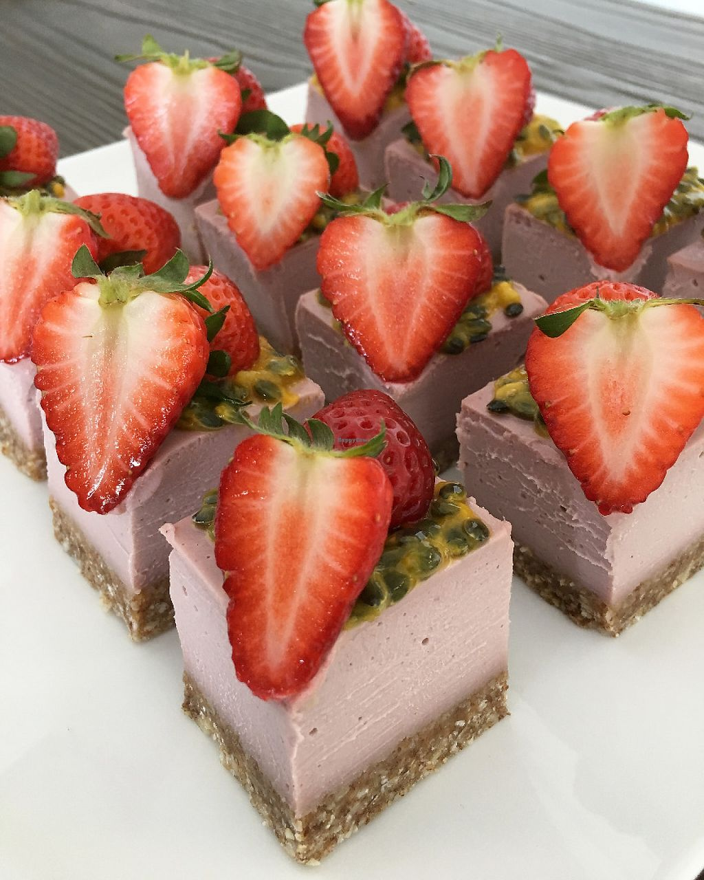 "Photo of RawLove Superfoods  by <a href=""/members/profile/RawLoveSuperfoods"">RawLoveSuperfoods</a> <br/>Raw Organic Strawberry Mousse Cake <br/> May 15, 2017  - <a href='/contact/abuse/image/92222/259163'>Report</a>"